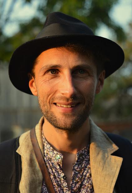 Zdjęcie: Witold Roy Zalewski w kapeluszu